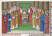 Coronation of Baldwin III