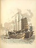 Portraits of sea vessels