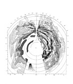 Galactic hydrogen distribution