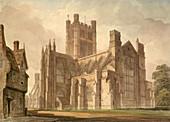 View of Bath Abbey