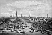 Kehrwieder,Hamburg,19th Century Germany