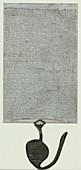 Lacock Abbey Magna Carta