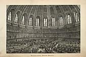 Reading-room,British Museum