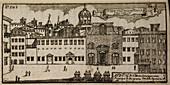An Illustration of 18th century Naples