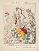 French Caricature - Signe des Temps