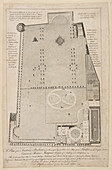 A Plan of the Academy at Norlands