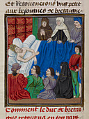 Death-bed of the Emperor Charles IV