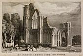 St Mary's Abbey church,York