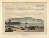 Pier at Ardrossan in Ayrshire