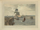 Pier at Littlehampton,Great Britain