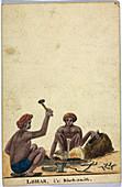 Lohar,i.e. Black-smith