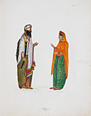 Man and woman from Pothohar