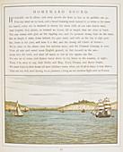 Ships sailing near Dover