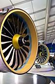 Jet aircraft engines