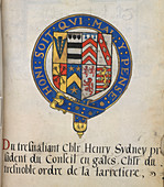 Coat of Arms of Sir Henry Sydney