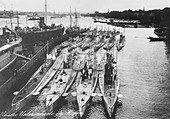 German submarines,World War I