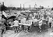 German field bakery,World War I
