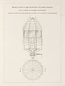 Fresnel on lighthouse lenses,1870