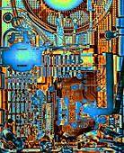 Radio circuit board,X-ray