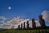 Total solar eclipse,Easter Island,2010