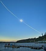 Total solar eclipse,Russia,2008