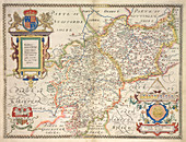 Saxton's Atlas of England and Wales