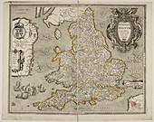 Map of the Kingdome of England and Wales