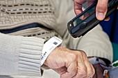 Scanning patient details