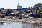 Slum in Colaba,Mumbai