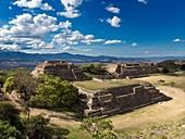 Monte Alban buildings,Mexico