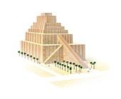 Etemenanki ziggurat,Babylon
