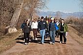 Walking healthcare initiative
