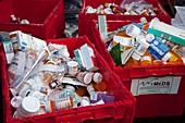 Medication disposal centre