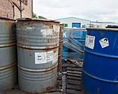 Hazardous industrial waste