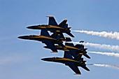 US Navy Blue Angels aerobatics display