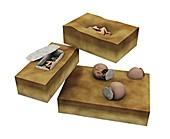 Prehistoric burial sites,artwork
