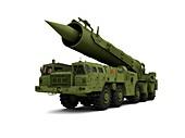 Saber nuclear missile,artwork