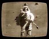Live transmission from the moon
