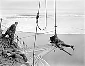 Antarctic filming on Terra Nova,1910