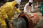 Hazardous materials cleanup training