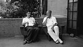 Delbruck and Stanley,Nobel laureates