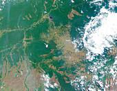 Deforestation in the Amazon,2000