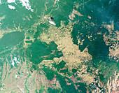 Deforestation in the Amazon,2008