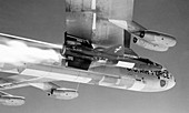 X-15 aircraft on a Boeing B-52,1960