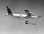 X-15 launch from a Boeing B-52,1959