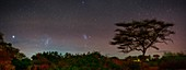 Night sky over Kenya