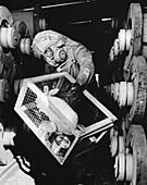 Testing for nerve gas,1970,USA