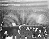 Nuclear reactor core construction,1940s
