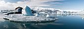 Glacial lagoon,Iceland