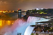 Niagara Falls at night,USA